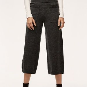 Wilfred Brion Pant, Merino Wool, Heather Charcoal
